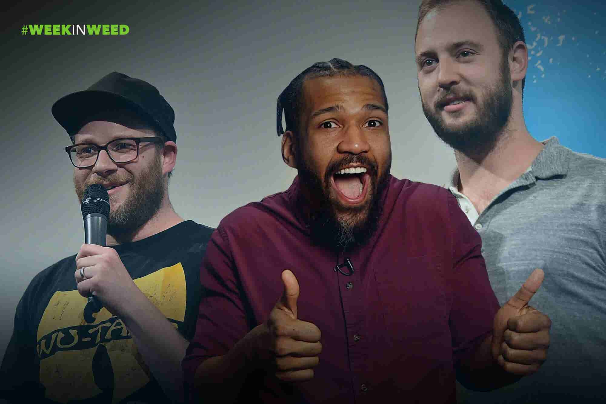 This Week in Weed: Seth Rogen Starts a Weed Company!