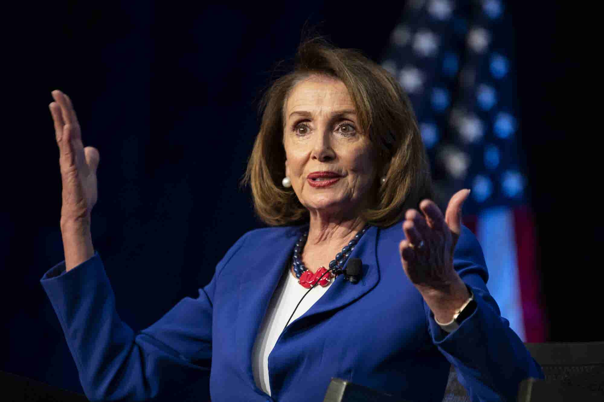 Nancy Pelosi Just Gave Joe Biden (and Every Man) Very Good Advice About Greeting Female Colleagues