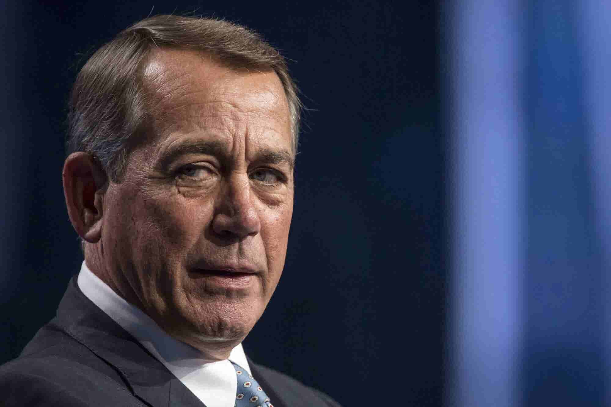 The Cannabis Industry Is Embracing John Boehner as Reluctantly as He Is Embracing Cannabis
