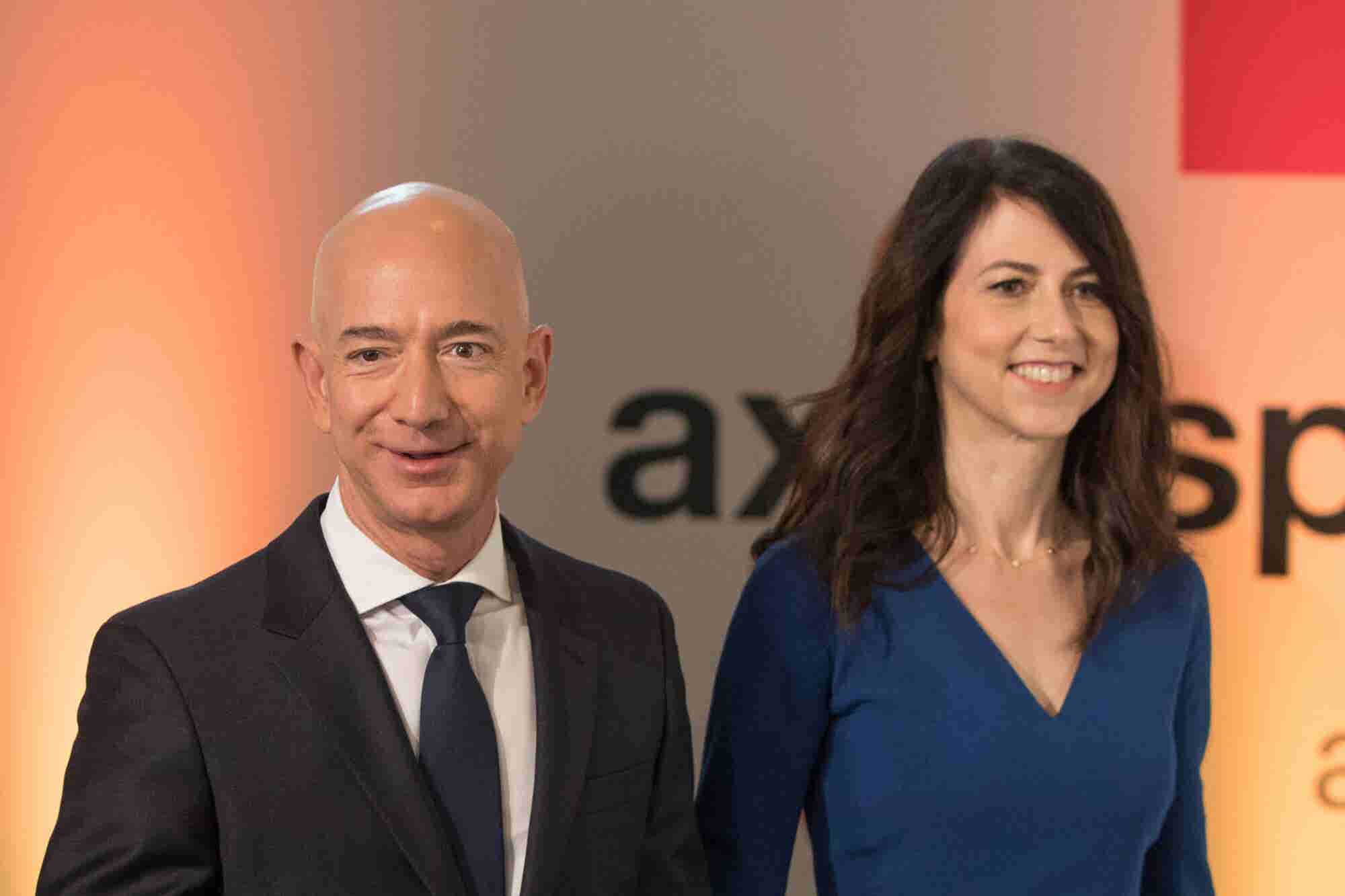 Jeff Bezos Remains the Wealthiest Man and Mackenzie Bezos Becomes the Third Wealthiest Woman in the World After Finalizing Divorce