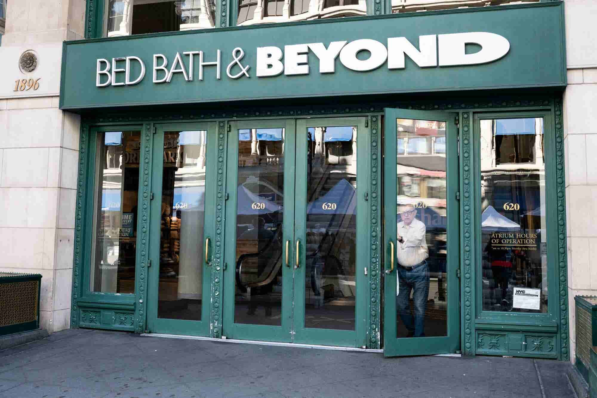 Bed Bath & Beyond Continues to Soar as Entrepreneur Index™ Nears an All-Time High
