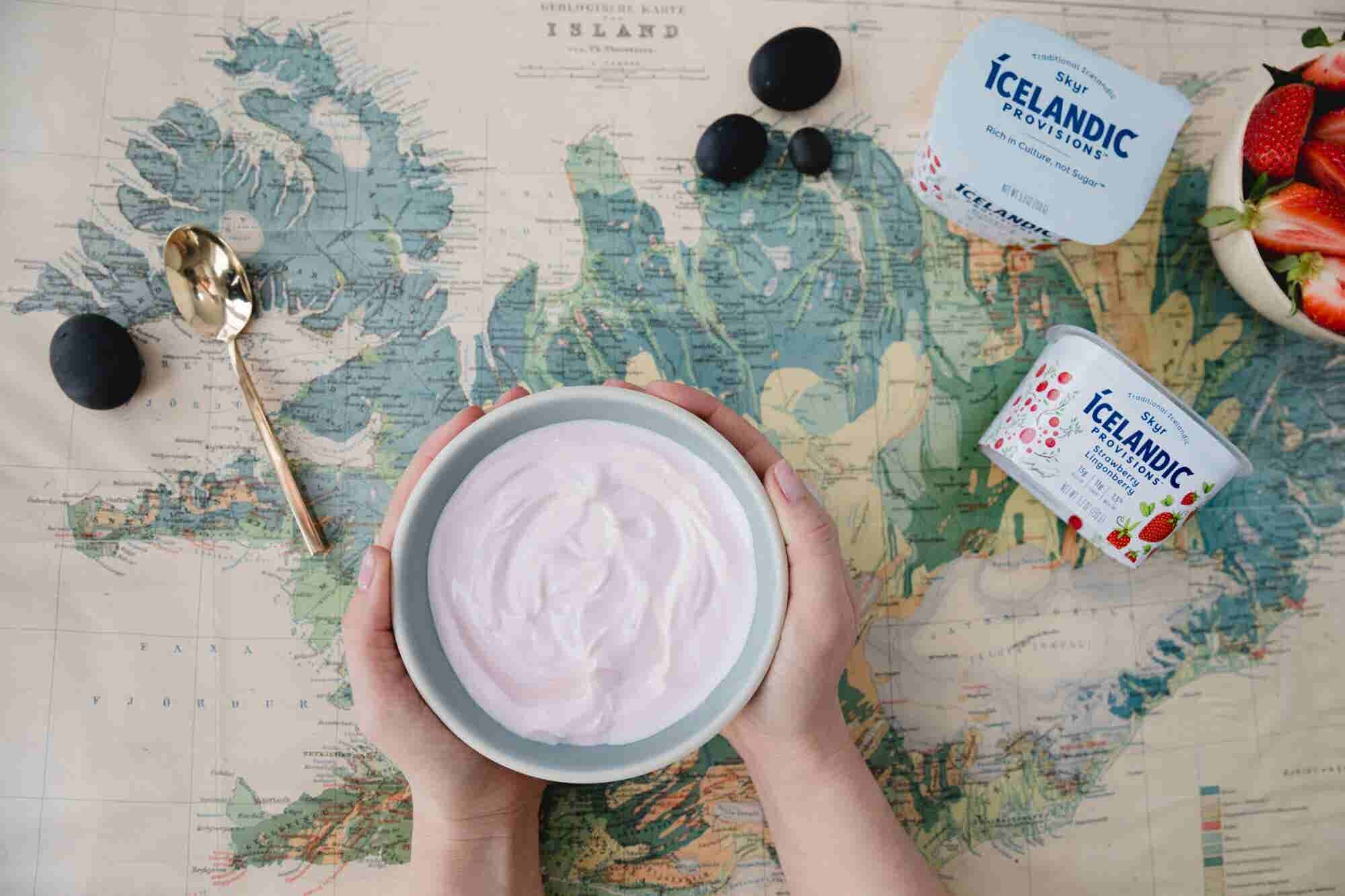 It Took 2 Years for This Entrepreneur to Convince an Icelandic Dairy Company to Partner Up on a Yogurt-Like Snack