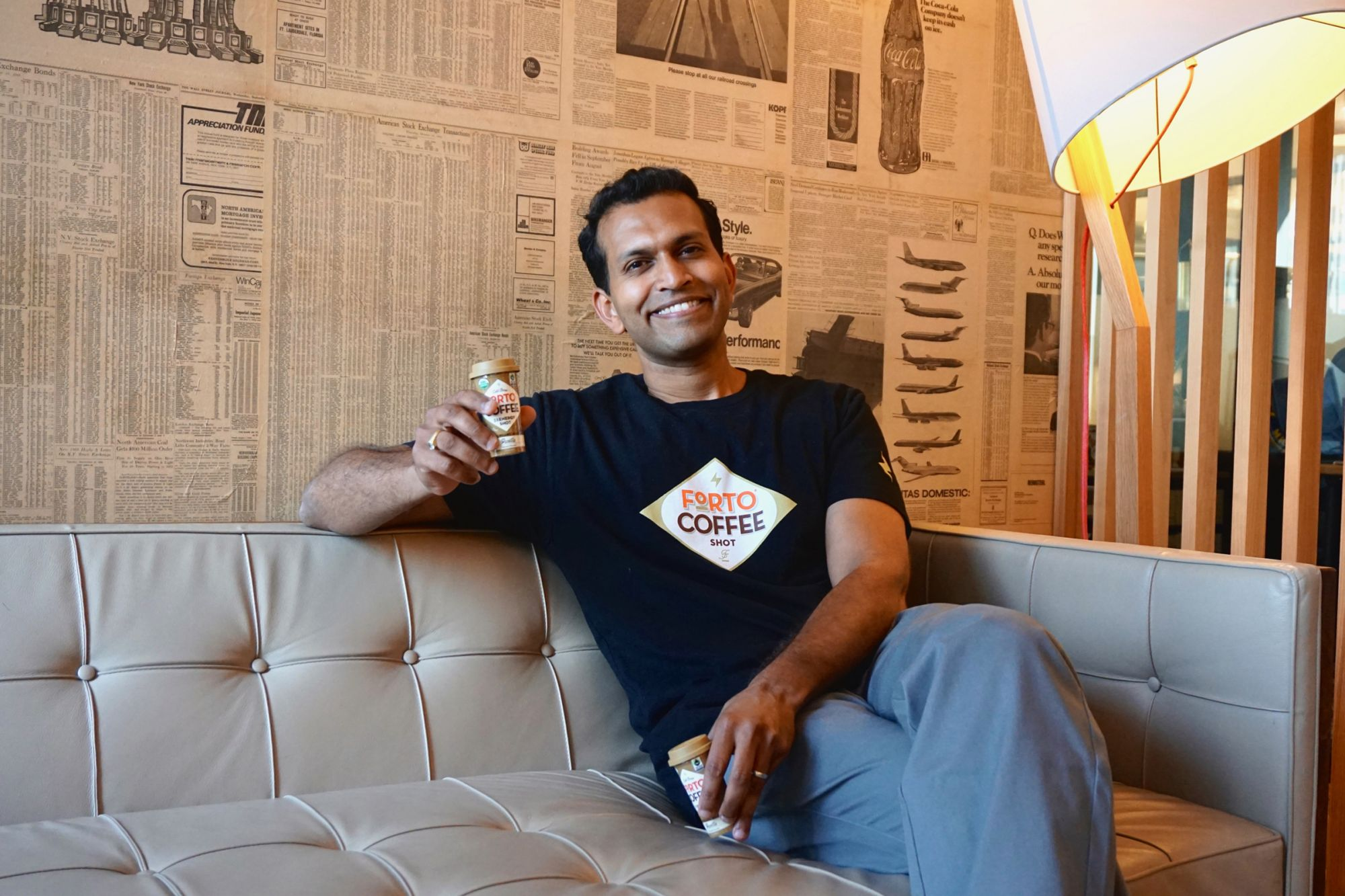 This Entrepreneur Bet His Existing Business to Launch a Coffee-Shot Brand