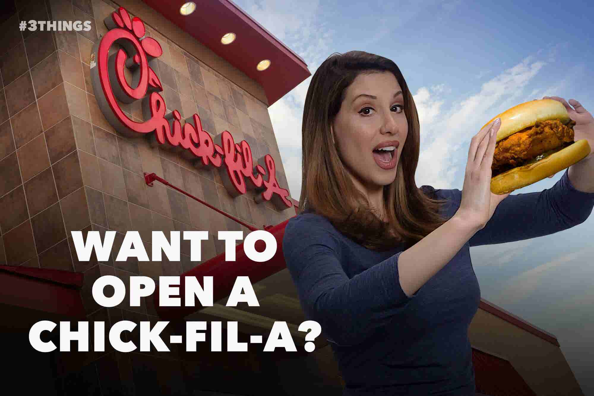 What You Need to Know Before Investing in a Chick-fil-A Franchise (60-Second Video)