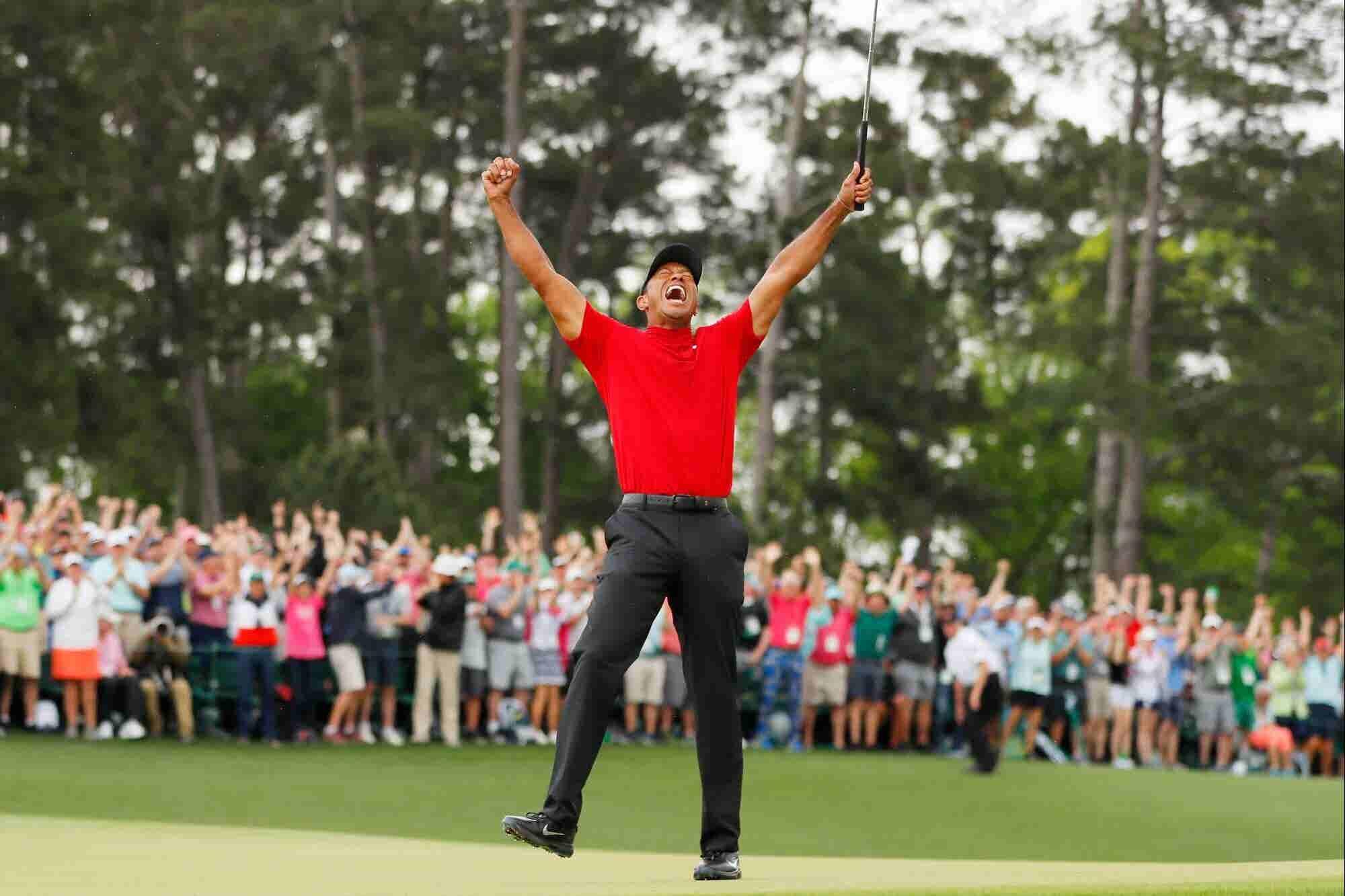 ?Quieres un 'comeback' como el de Tiger Woods? Solo necesitas tener la mentalidad correcta