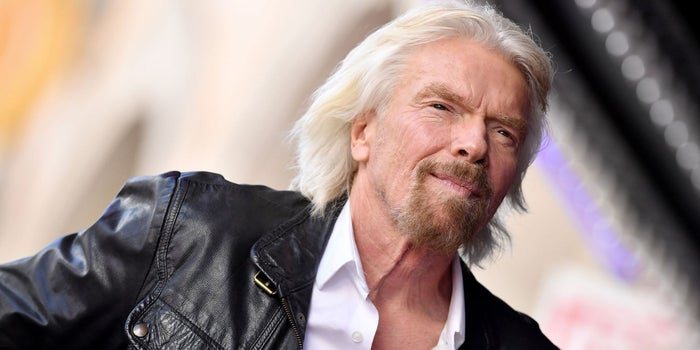 Richard Branson's 8 Keys to Happiness and Success