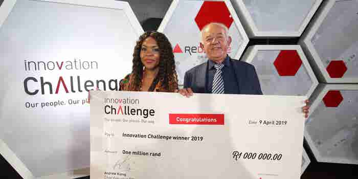 Mary-Ann Mandishona Wins Redefine Properties' First Ever Innovation Challenge Prize