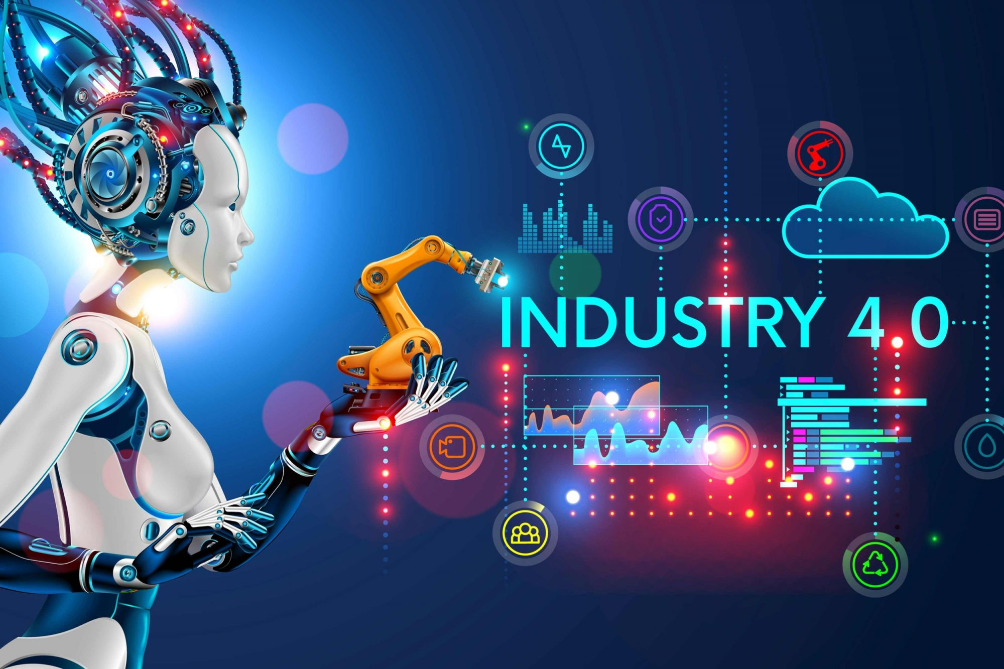 Impact of Industrial Automation on the Manufacturing Sector