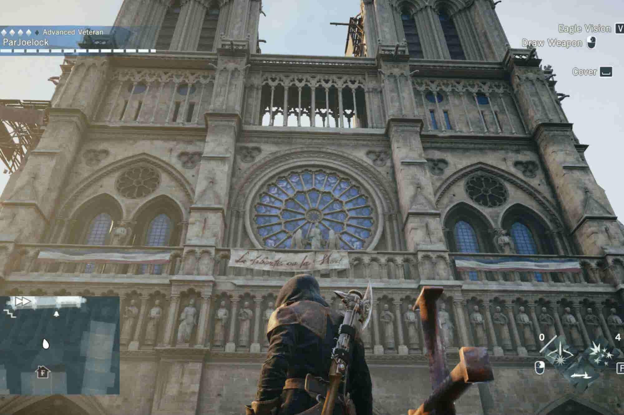 Cómo Assassins Creed podría ayudar a reconstruir Notre Dame