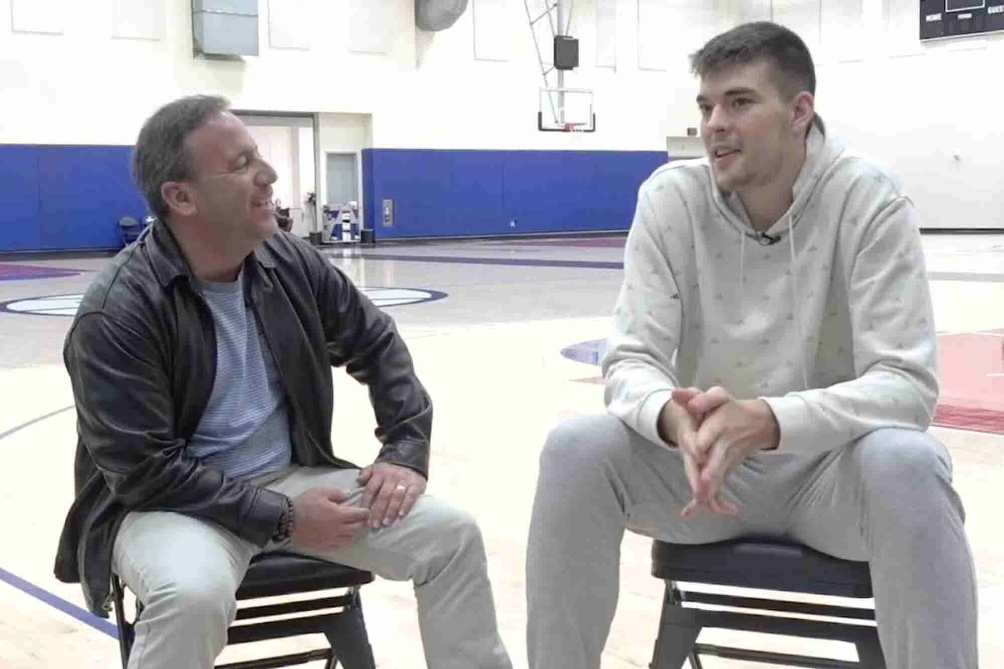 How This Croatian Basketball Player Made His NBA Dream Come True