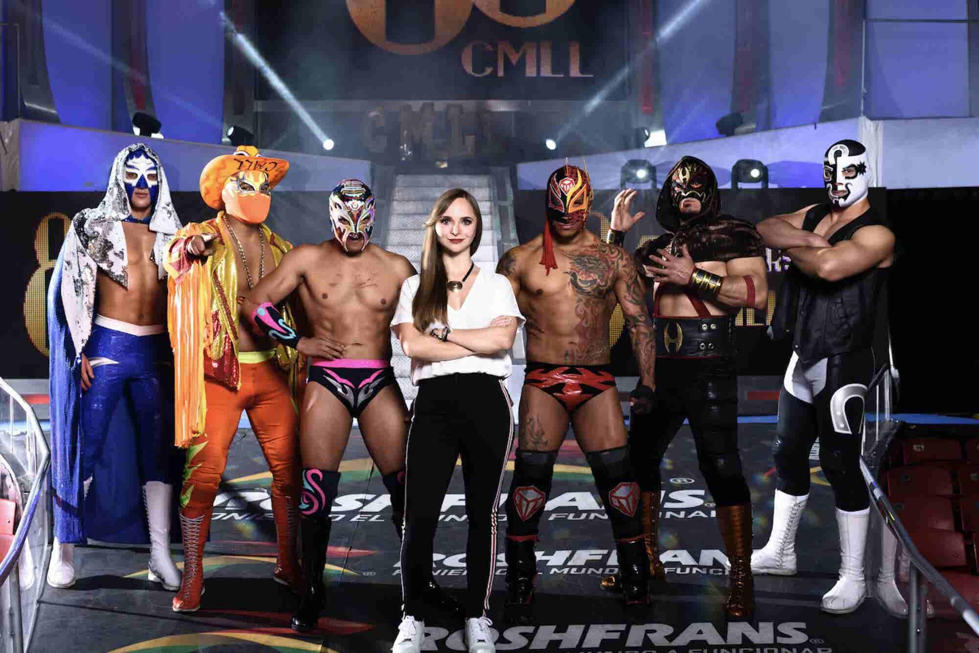 La joven de 28 años que hoy está a cargo de la lucha libre mexicana