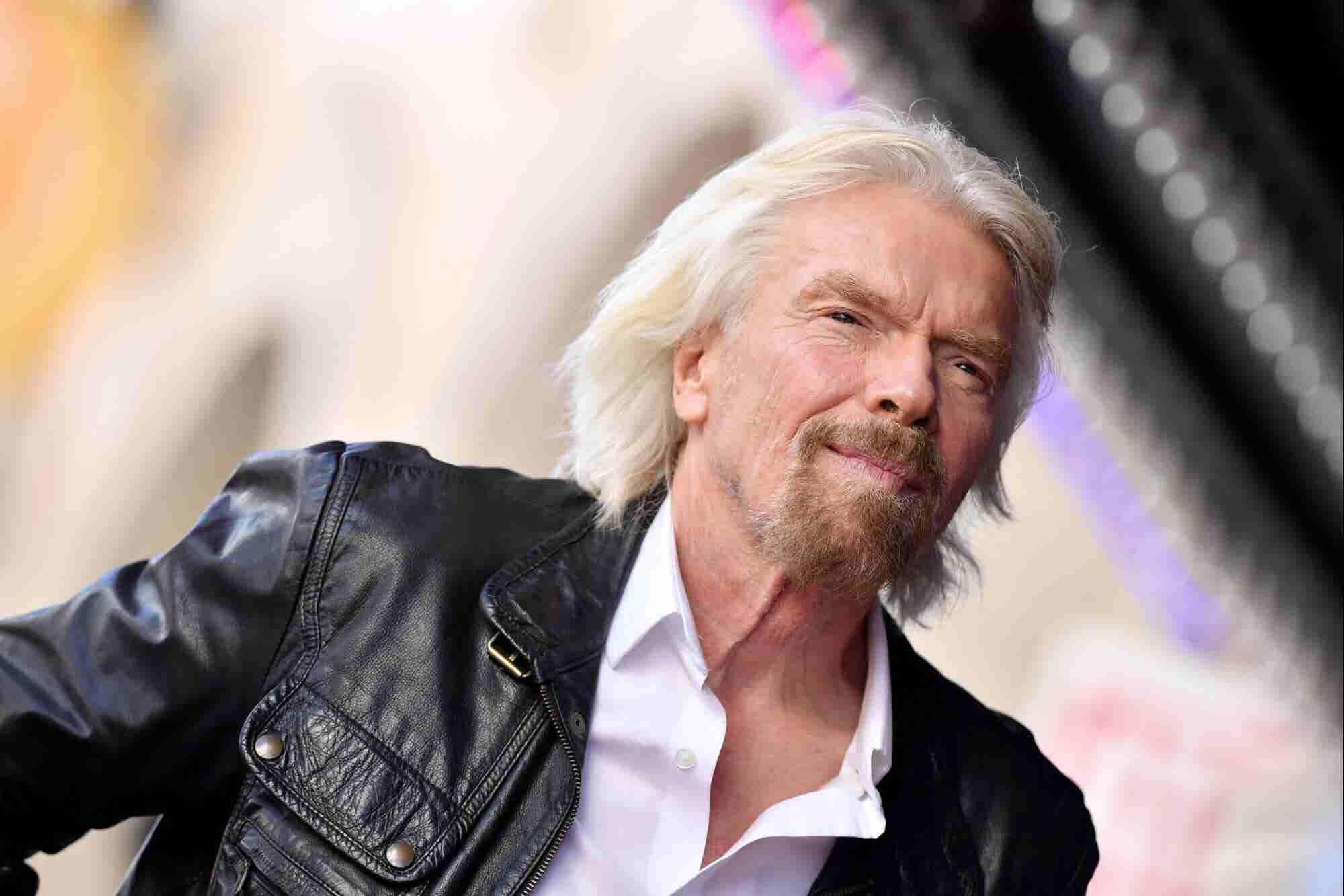 Las 8 claves de la felicidad y el éxito de Richard Branson