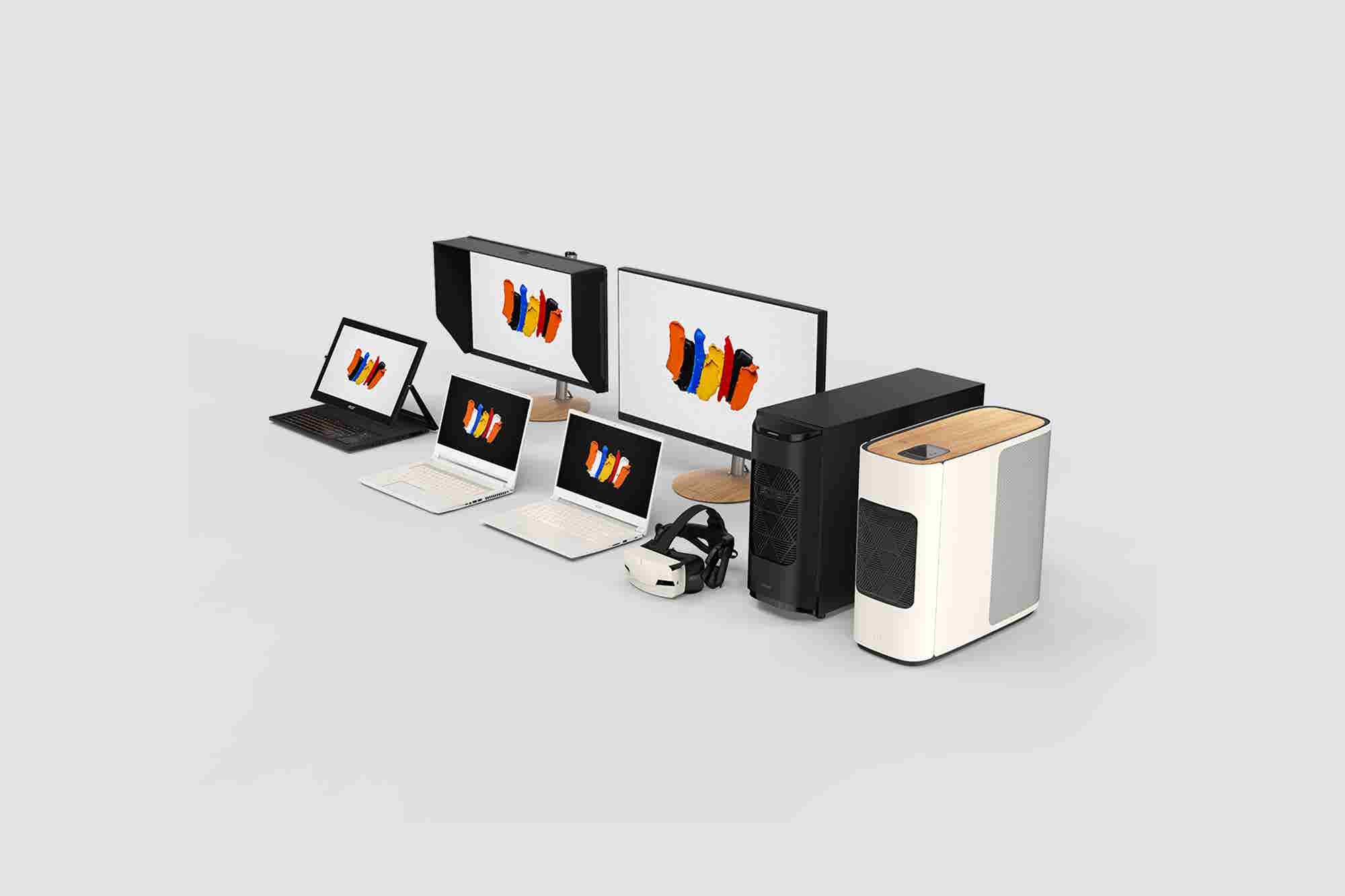 დაივიწყეთ MacBook - Acer ახალ ხაზს უშვებს შემოქმედებითი ადამიანებისთვის