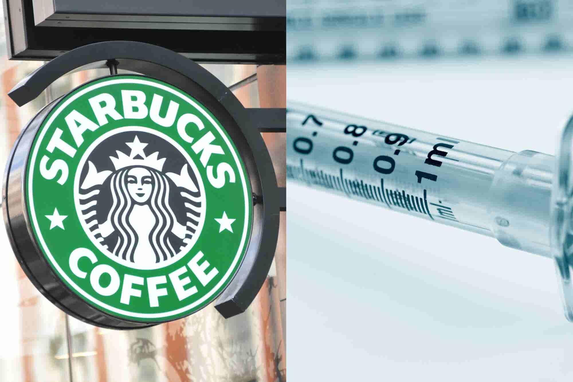 Por qué Starbucks EU está poniendo cajas para jeringas en sus baños