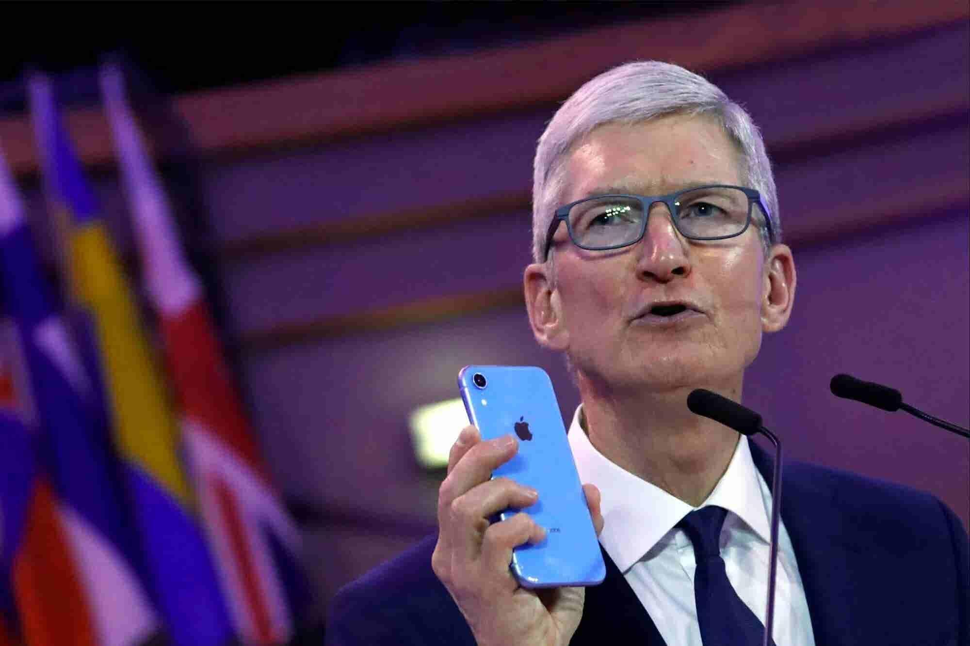 El CEO de Apple no quiere que seas adicto a tu iPhone