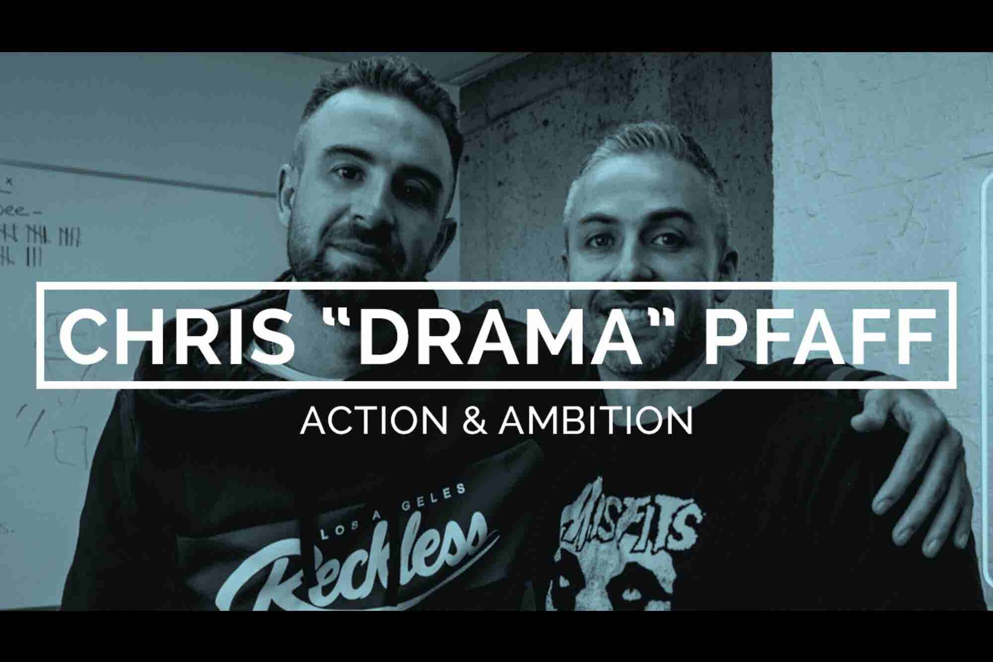 How Christopher 'Drama' Pfaff Used His MTV Fame to Build a Fashion Brand
