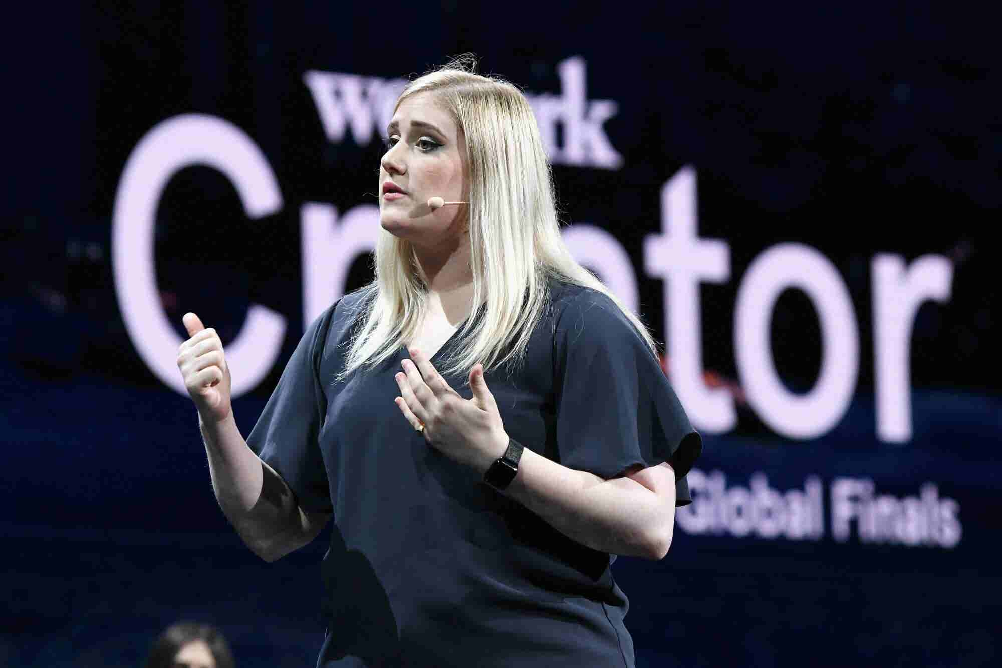 She Won $1 Million for Her Big Idea at WeWork's Global Pitch Competition. Here's How -- and Her Top Pitching Strategy. (Podcast)