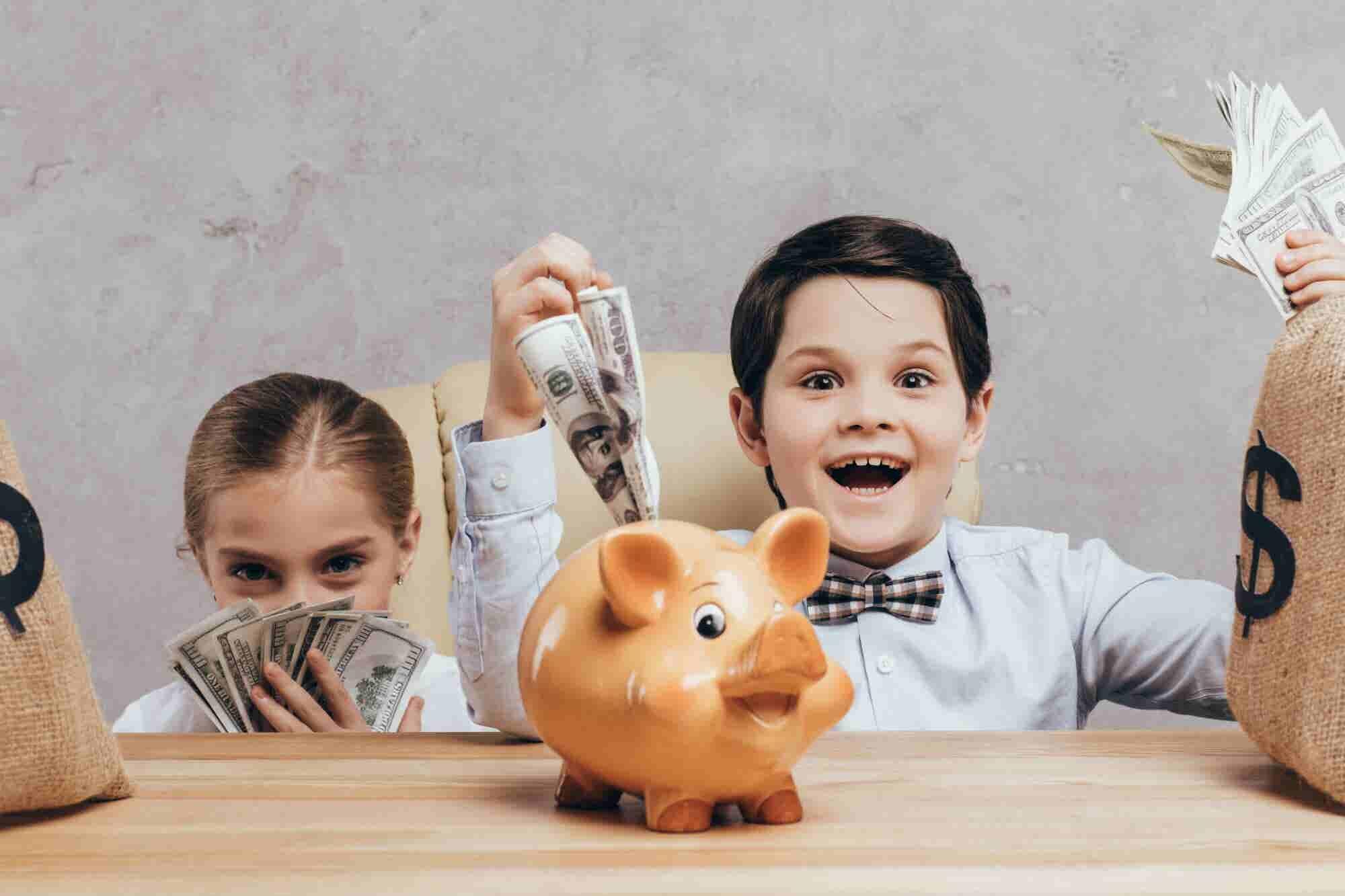 Tips de ahorro para que los niños no sufran de adultos