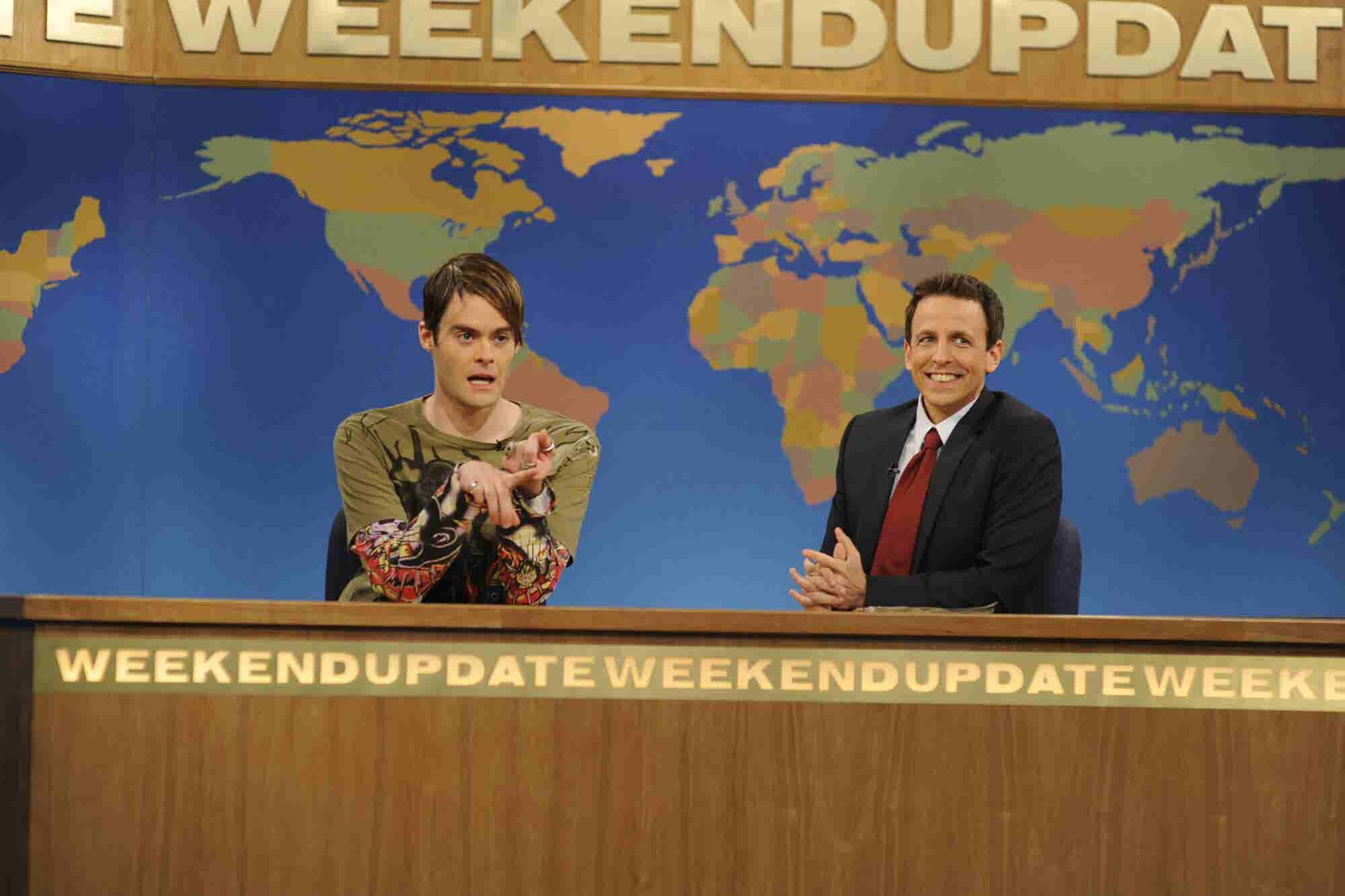 Why Did SNL's Bill Hader Frequently Screw Up on Purpose?