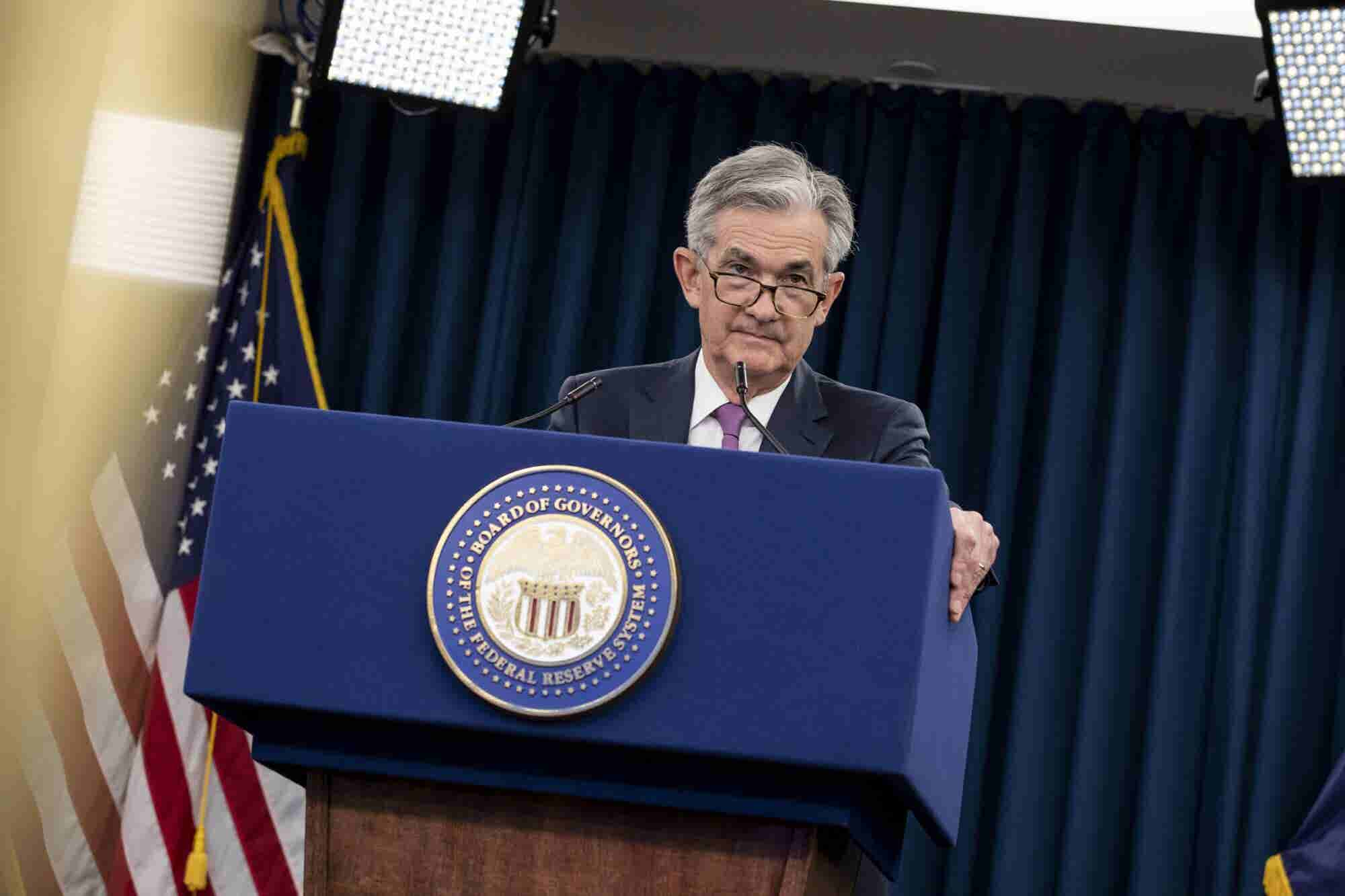 Federal Reserve Chairman Sinks Stock Market, Entrepreneur Index™ Finishes Down