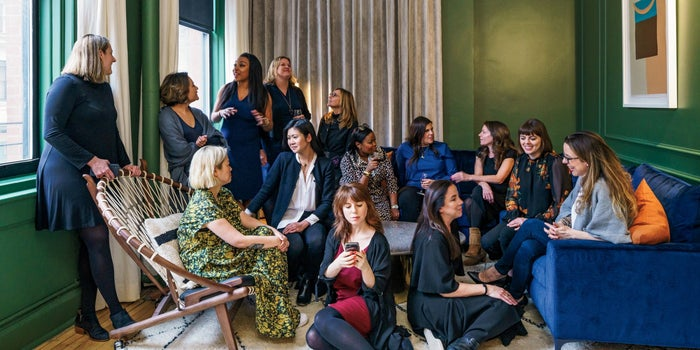 At Chief, the Club for Female Executives, High-Powered Women Aim to Break the Glass Ceiling -- For Good