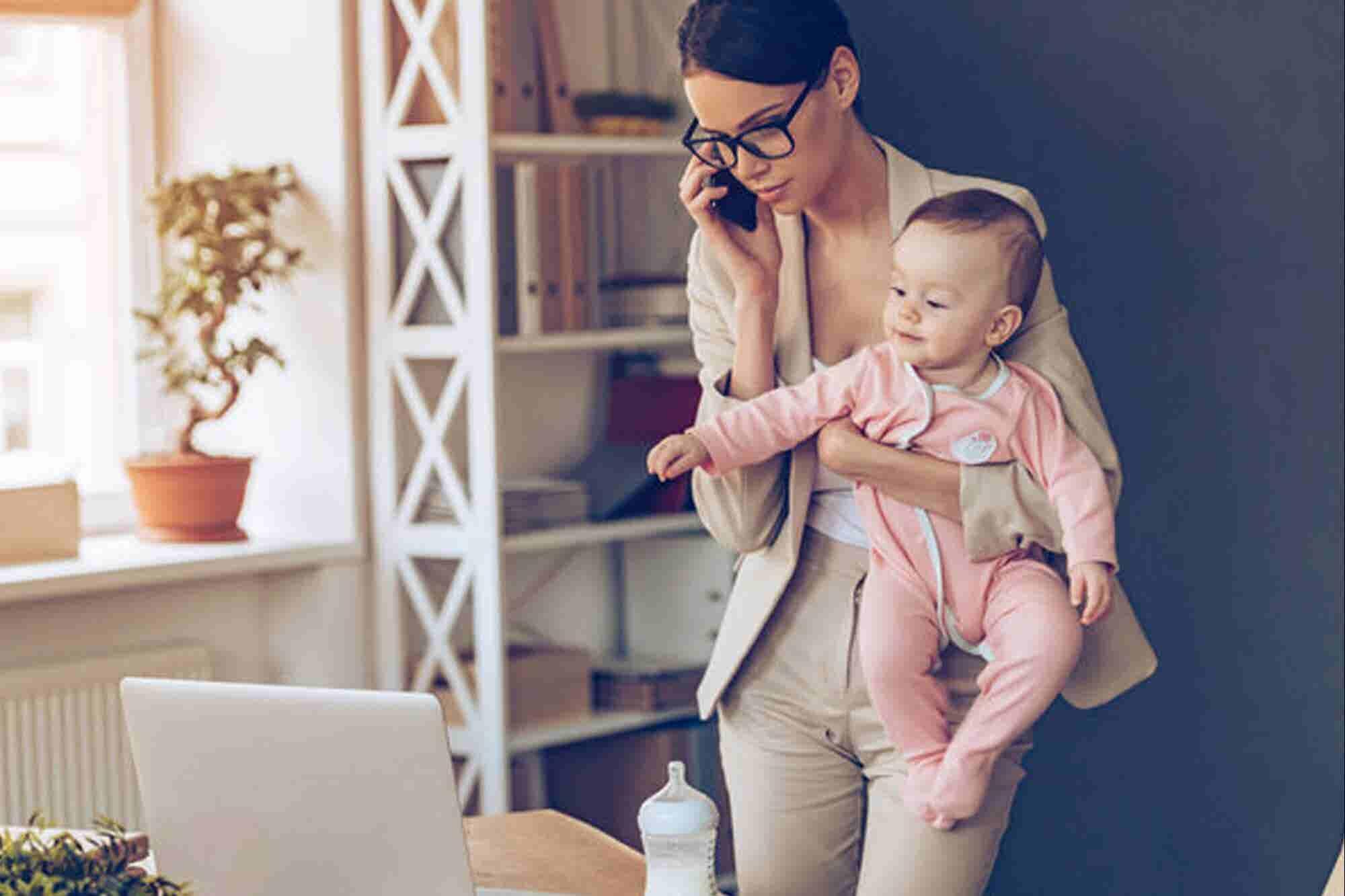 5 აუცილებელი ნაბიჯი დედობისა და ბიზნესის მართვის შესათავსებლად