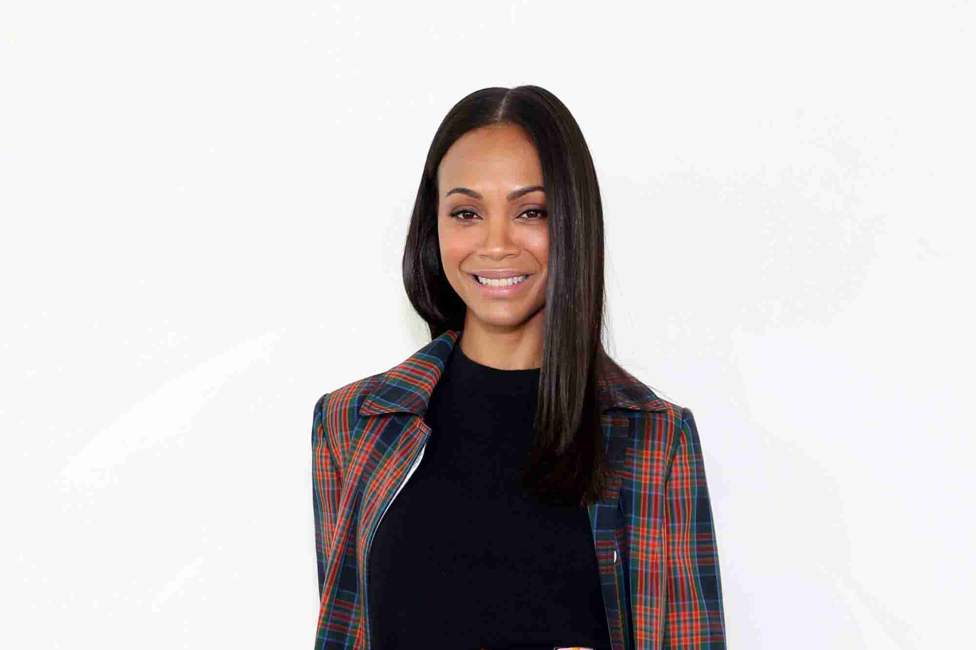 'Avengers' Star Zoe Saldana Not Only Battles Bad Guys Onscreen -- She's Also Fighting the Lack of Diversity in Media