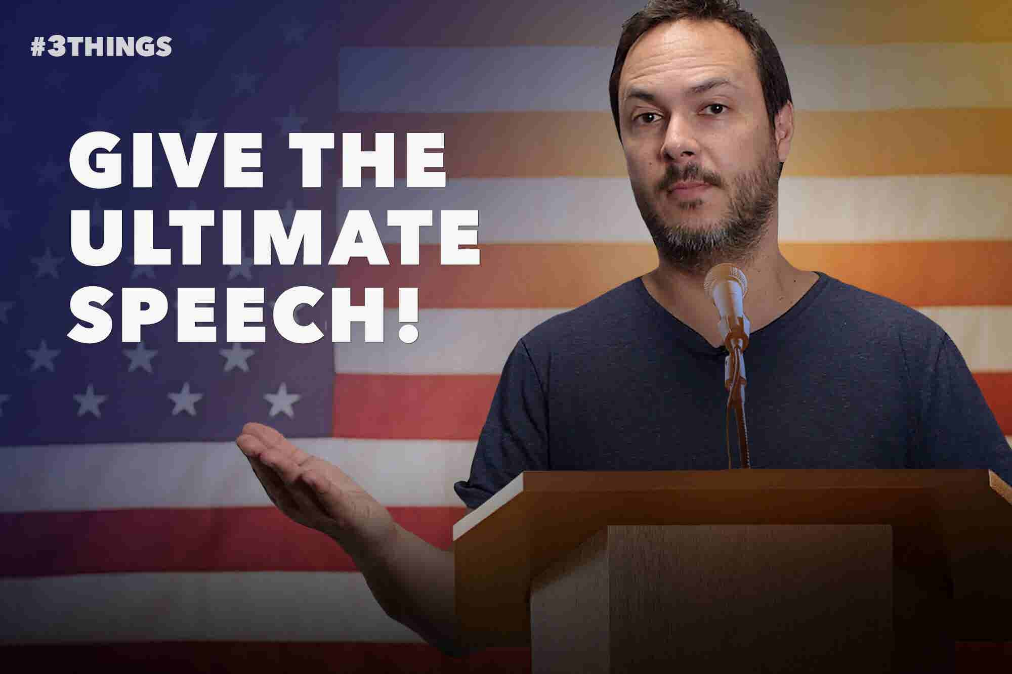 3 Powerful Public Speaking Tips (60-Second Video)