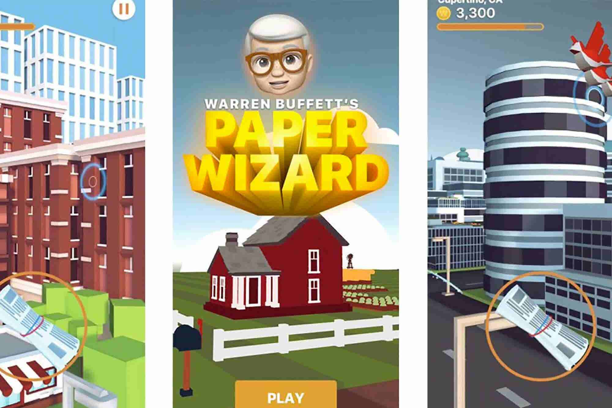 Apple's First iPhone Game in Over a Decade Stars Warren Buffett