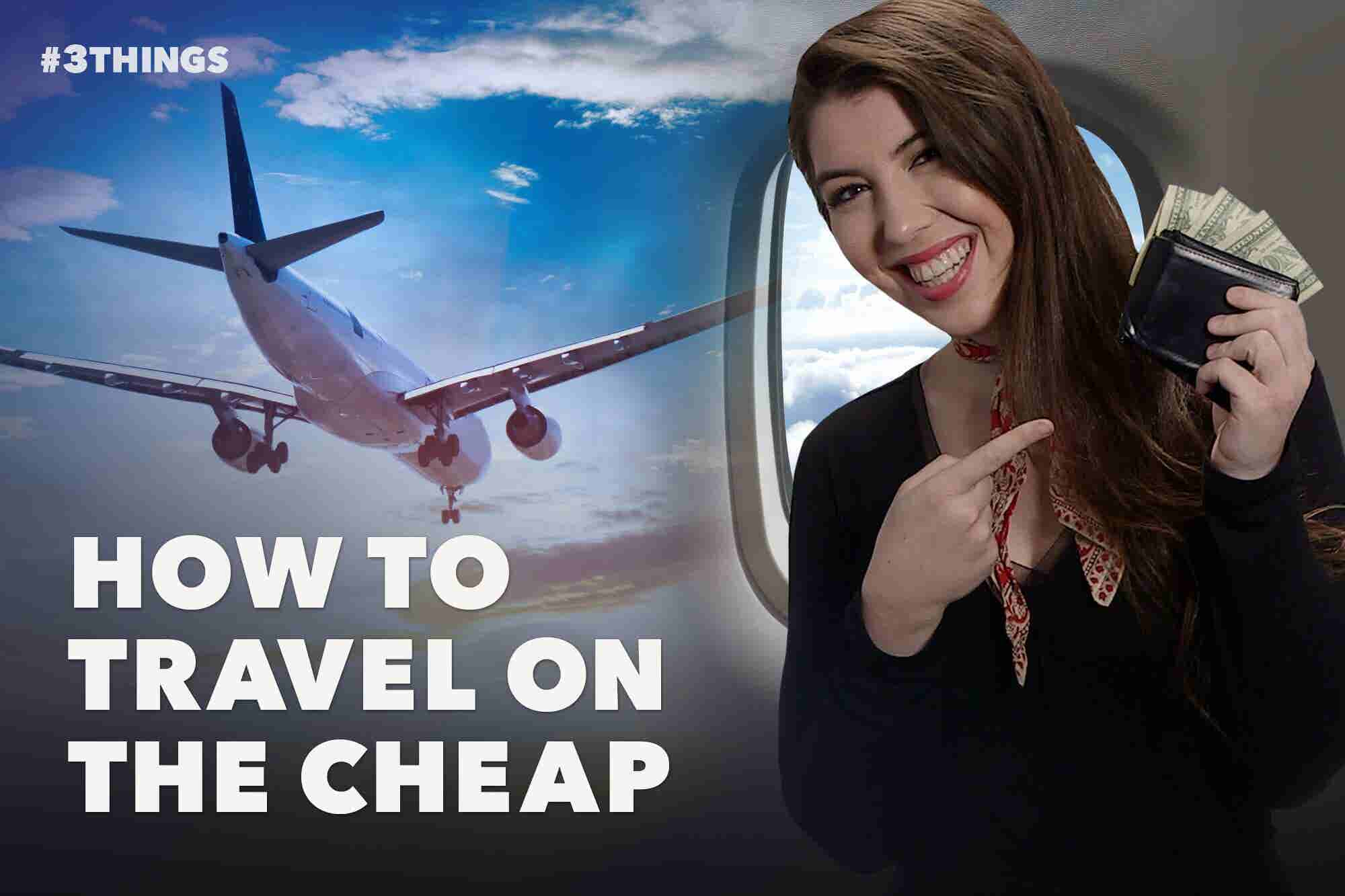 Booking a Flight? Here Are 3 Ways to Save. (60-Second Video)