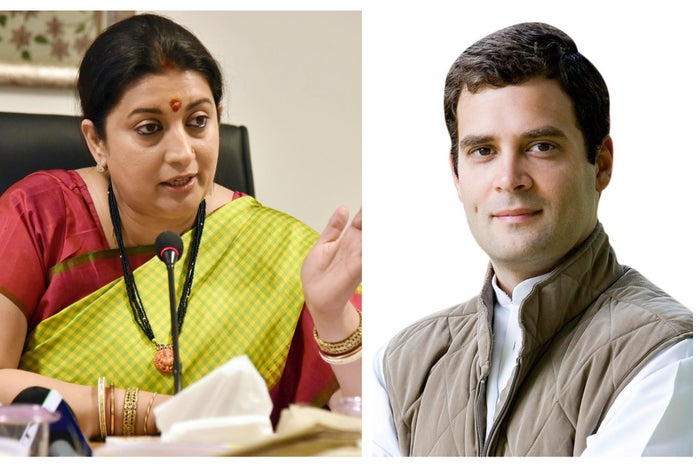 From Getting Questioned over Educational Qualifications to Dethroning the First Family of Indian Politics: Why Smriti Irani is BJP's Ticket to Glory