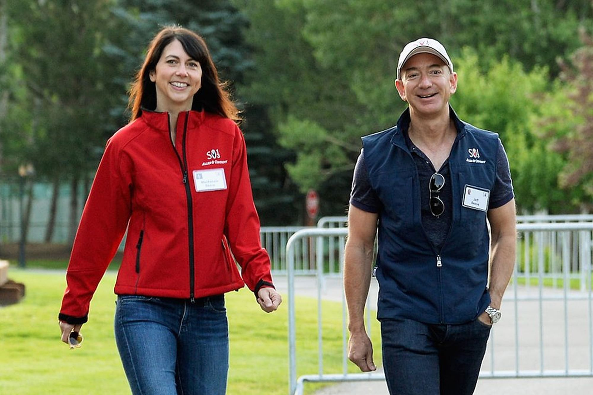 MacKenzie Bezos Just Pledged to Give Away Half Her $37 Billion Fortune During Her Lifetime