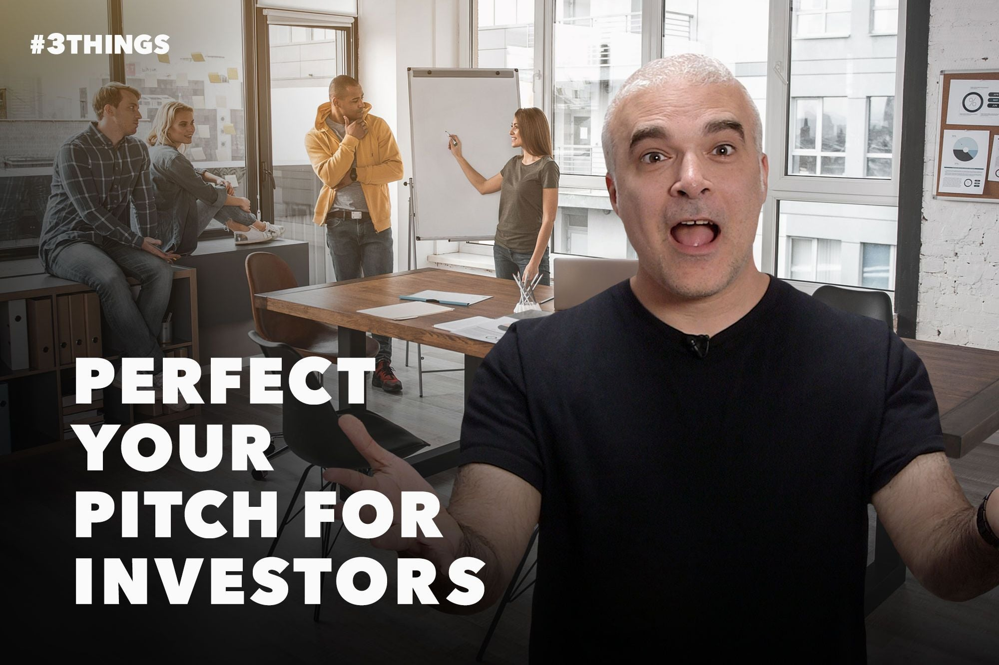 How to Perfect Your Elevator Pitch for Investors (60-Second Video)