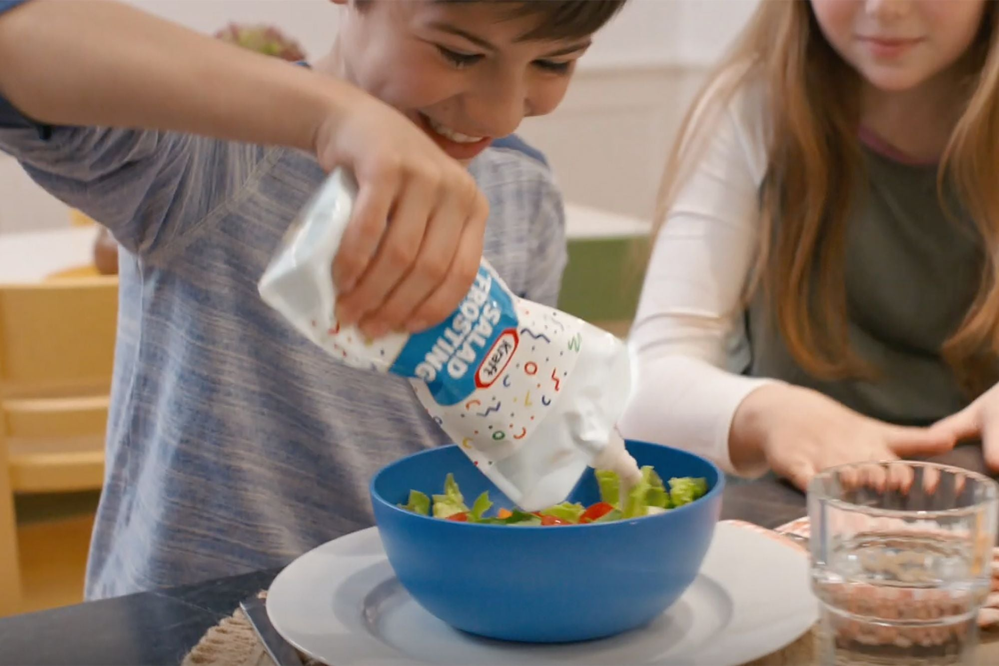Kraft Rebrands Ranch Dressing as 'Salad Frosting' to Trick Kids Into Eating Vegetables
