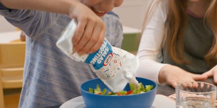 Kraft Rebrands Ranch Dressing as 'Salad Frosting' to Trick Kids Into Eating Vegetables