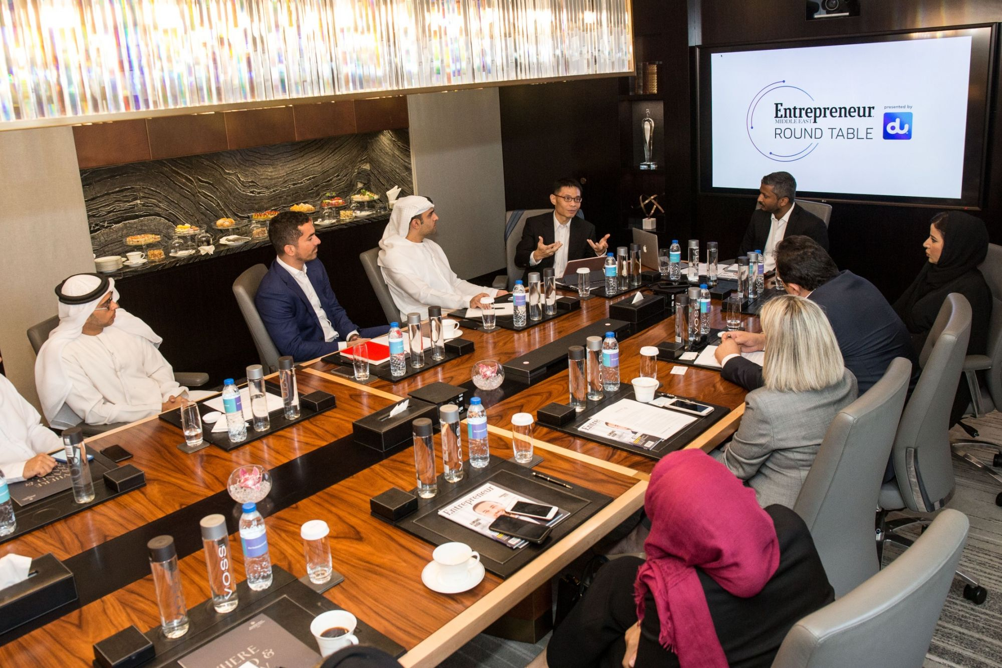 Round Table Jobs Application.Entrepreneur Middle East Hosts Round Table Presented By Du On