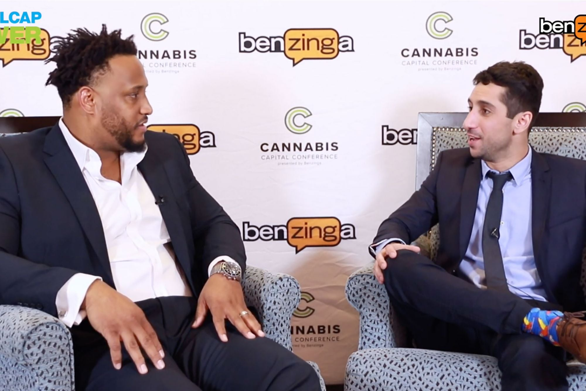 NFL's Calvin Johnson and Rob Sims Talk Cannabis: It's 'A God-Given Gift'