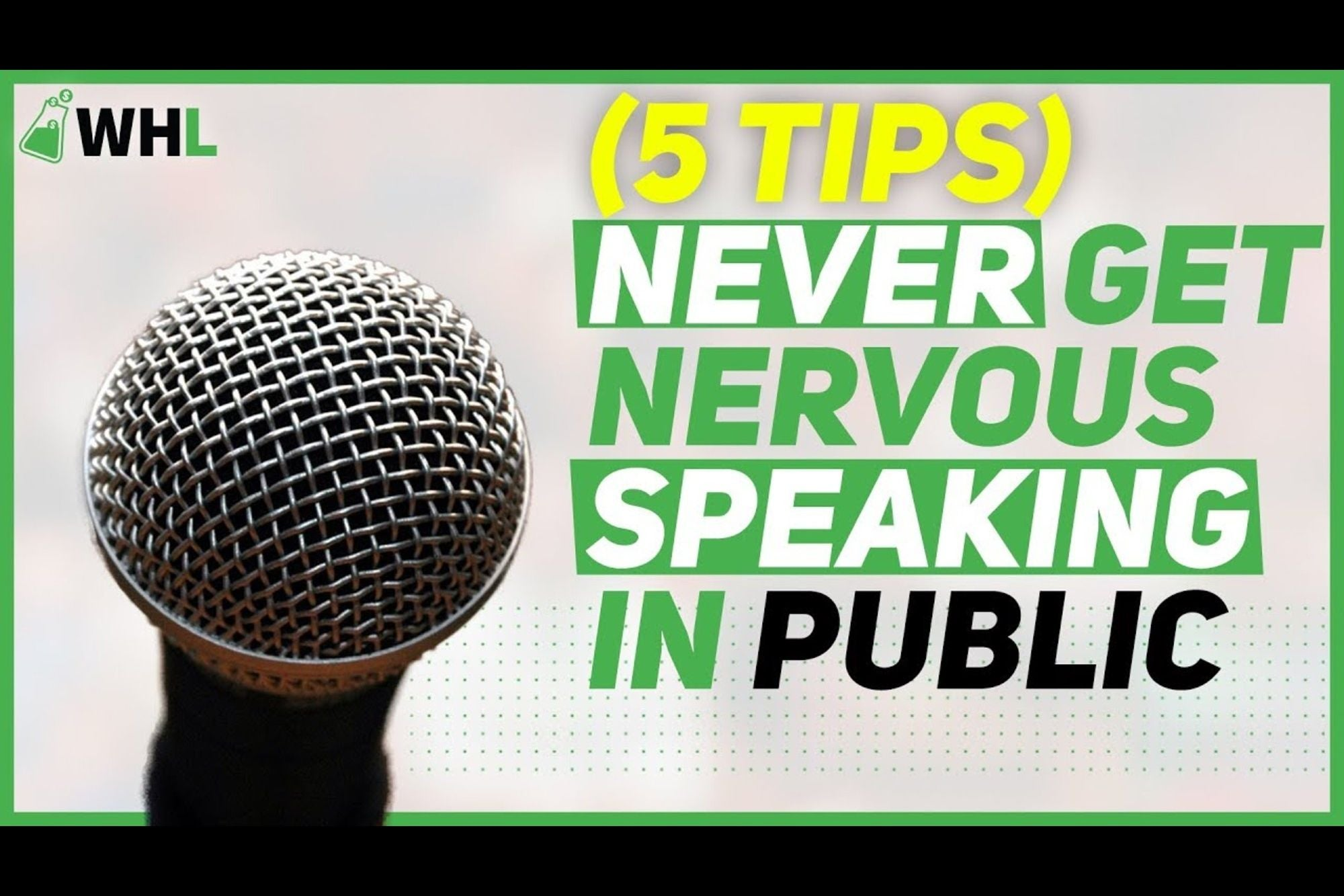 5 Easy Tips to Combat Nerves and Excel at Public Speaking