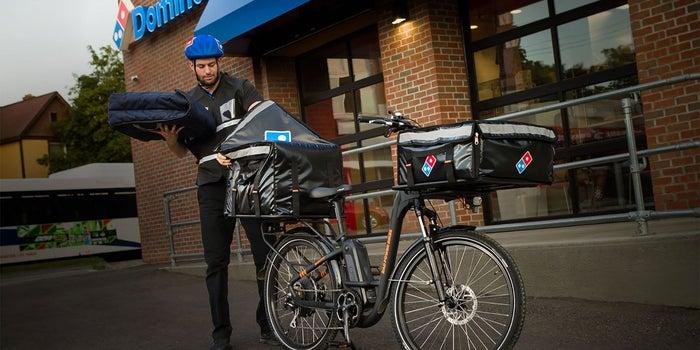 Domino's Will Use E-Bikes to Deliver Pizzas Across the U.S.