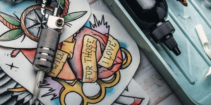 Modelo De Negocio Abre Un Estudio De Tatuajes