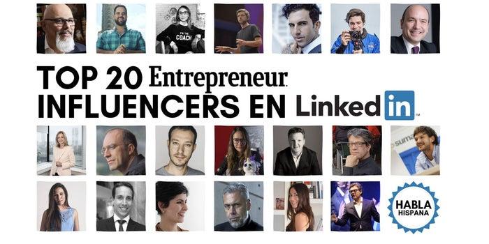 Los 20 influencers en español más importantes en LinkedIn