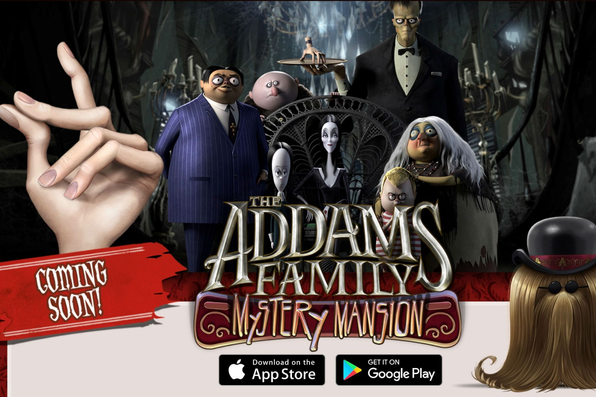 how long is the adams family movie