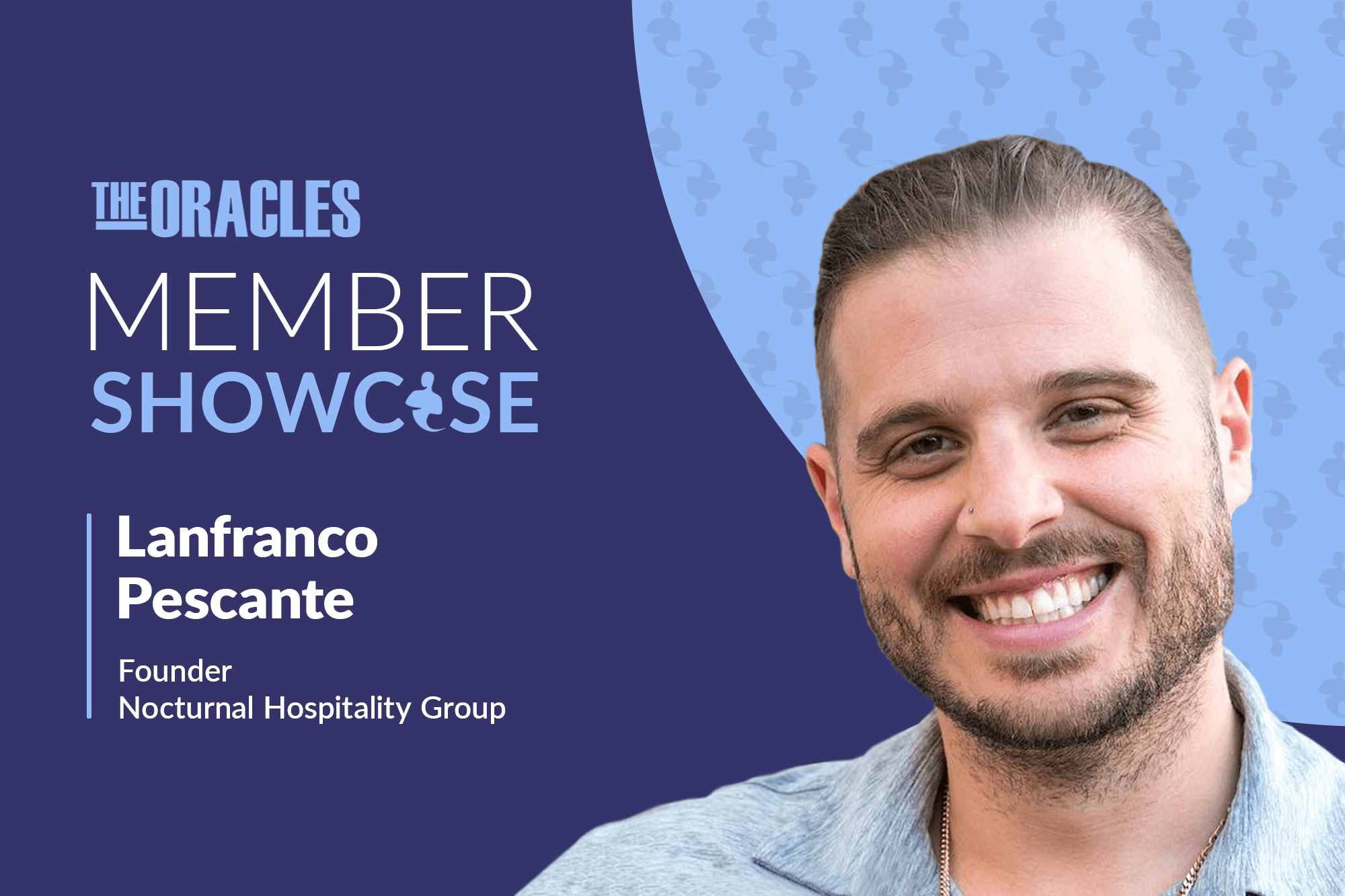 From Dishwasher to Hosting Events Featuring Nelly and Avicii: Why Italian Immigrant Lanfranco Pescante Believes the American Dream Is Still Alive