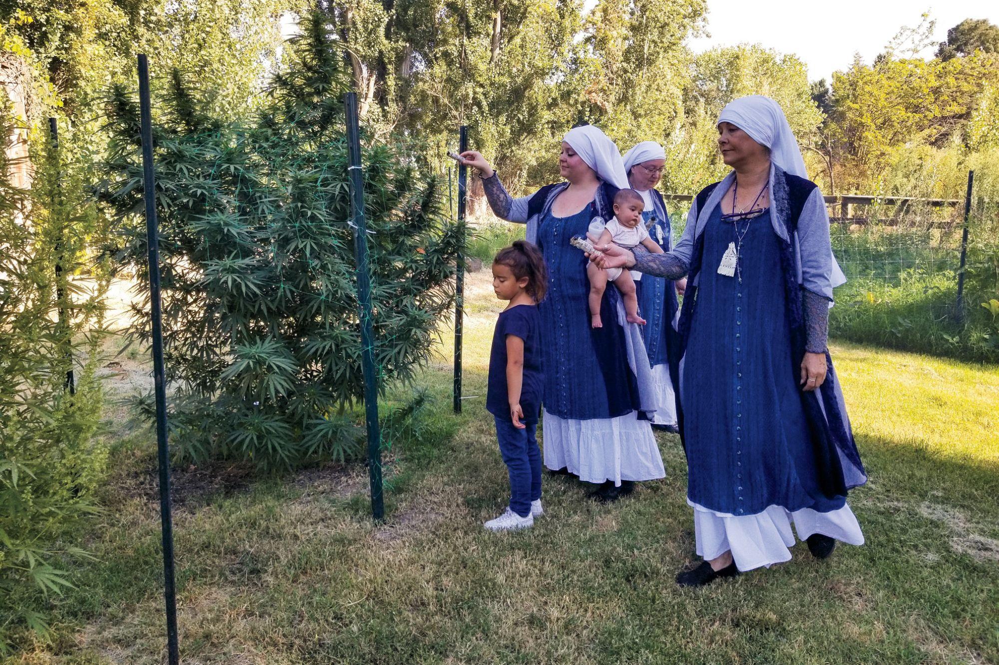 Meet The Nuns Making CBD