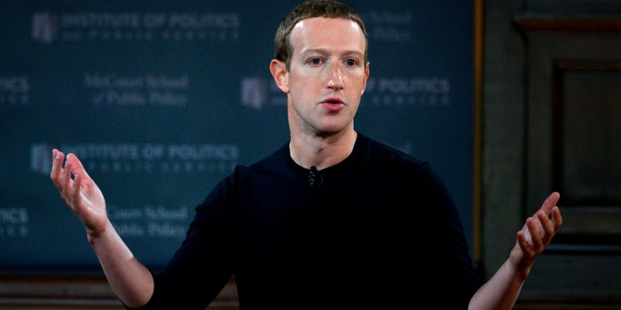 Mark Zuckerberg Suggests Facebook Might Have Helped Prevent the War in Iraq