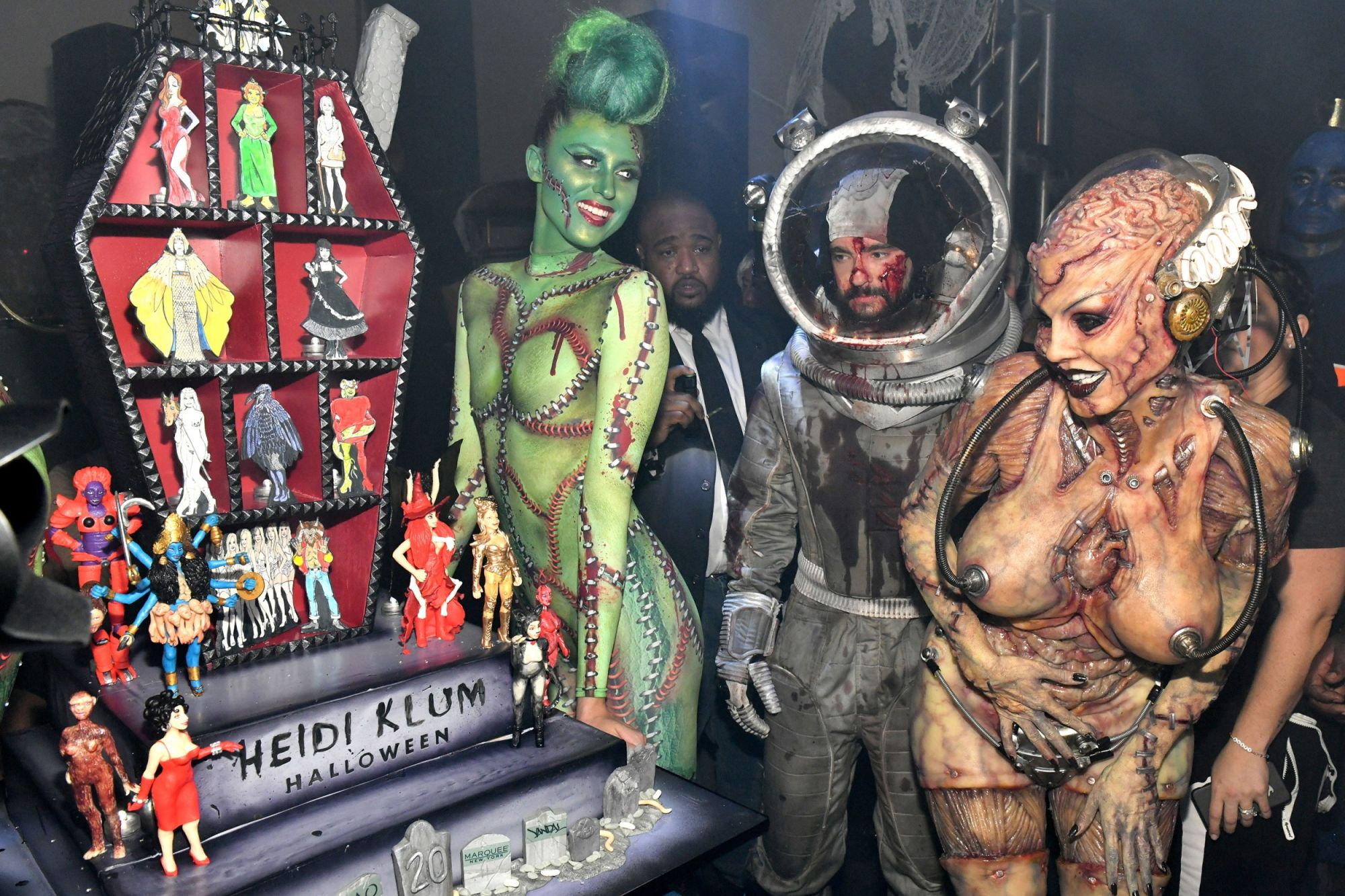 Heidi Klum Halloween Bash 2020 I Went to Heidi Klum's 20th Annual Halloween Party. Here's What