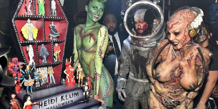 Heidi Klum Halloween Bash 2020.I Went To Heidi Klum S 20th Annual Halloween Party Here S What It S Like Inside