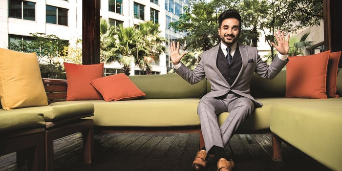 How Vir Das Juggles Multiple Tasks and Lives Out of a Suitcase