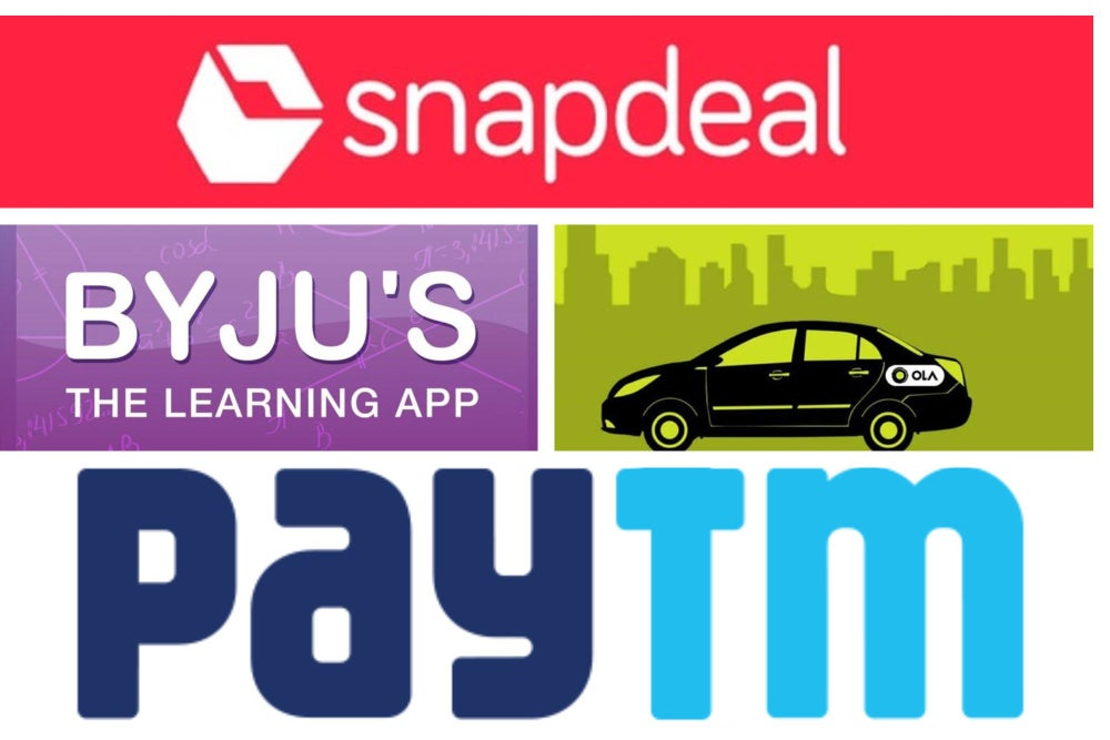 This Startup is Most Valued in India, Followed by Oyo Rooms, Snapdeal, Ola and Byju's