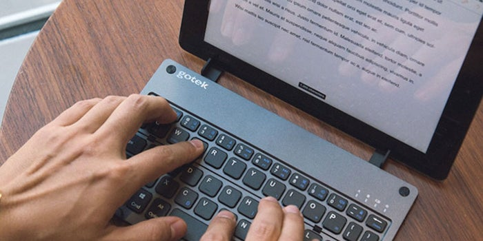 Twitter's CEO Works Only on His Smartphone. You Can, Too, with This Portable Keyboard.